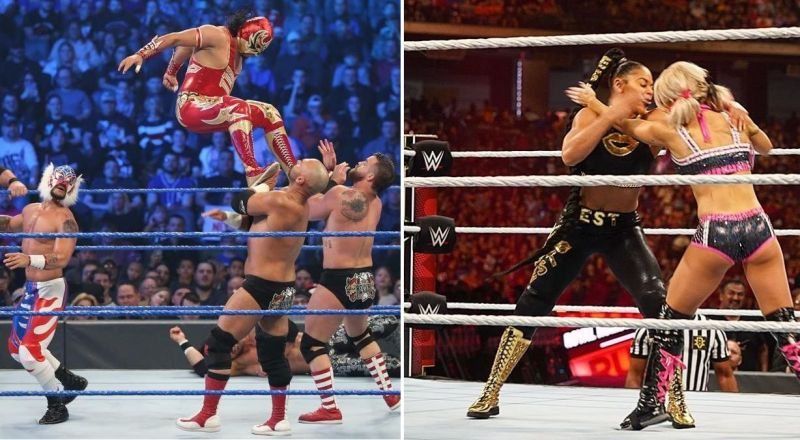 There were some interesting botches this week on SmackDown