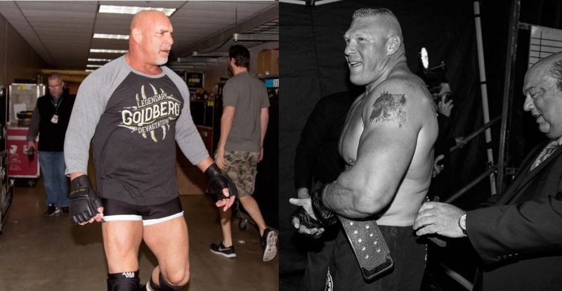 Goldberg and Lesnar