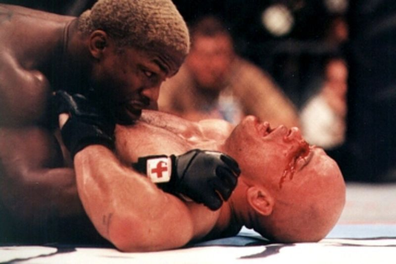 Kevin Randleman dominated Bas Rutten but came out on the wrong end of the decision