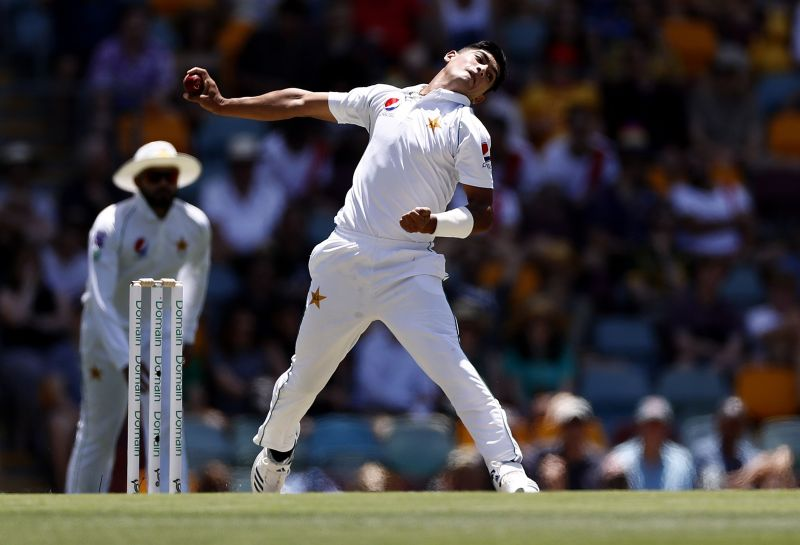 Naseem Shah at full tilt