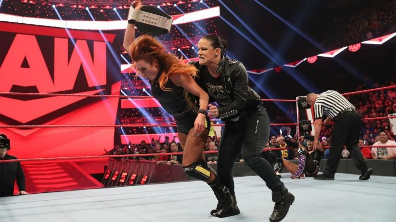 The Man was blindsided by her Survivor Series opponent
