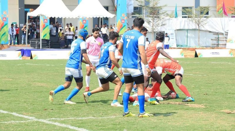 The Rugby competition culminated at the Khelo India University Games 2020 today