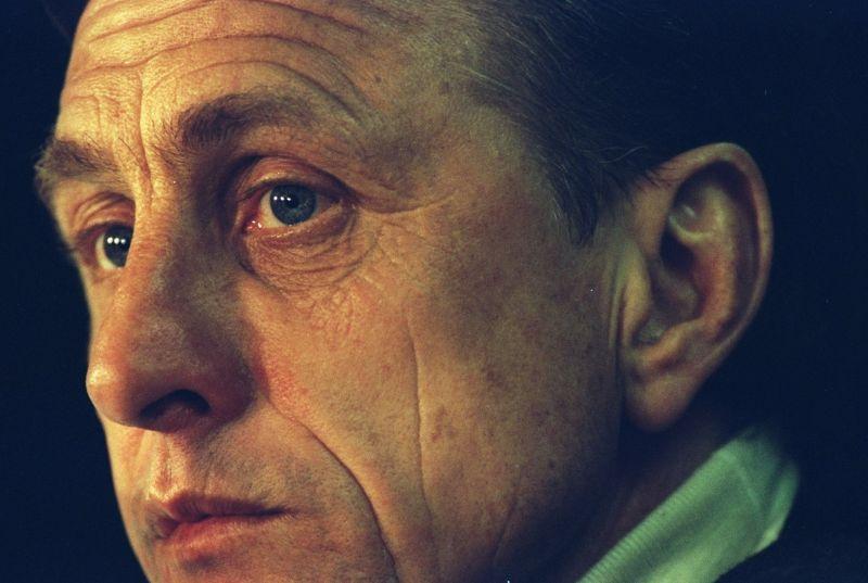 Johan Cruyff, ex-player and ex-coach of Barcelona