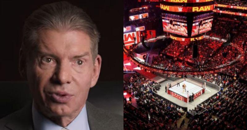 Vince McMahon/ RAW Arena.