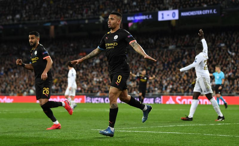Gabriel Jesus produced a Man of the Match performance at the Bernabeu