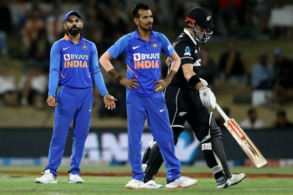 India lost the ODI series against New Zealand by 3-0