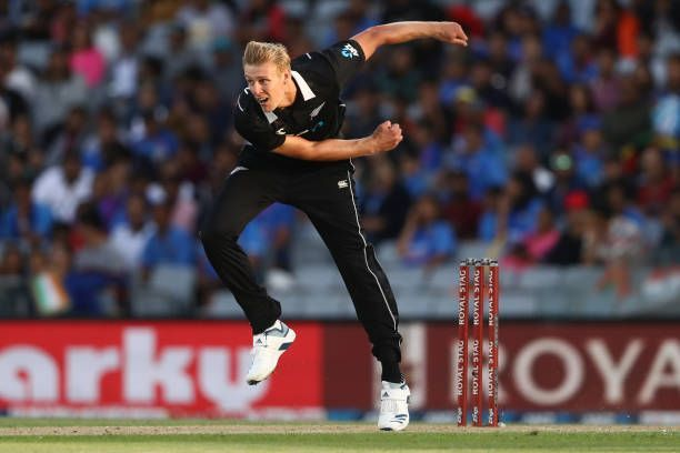 Kyle Jamieson had a dream debut in the second ODI.