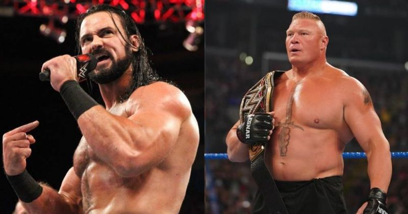 McIntyre and Lesnar are all set to face off in a WWE title match at WrestleMania 36