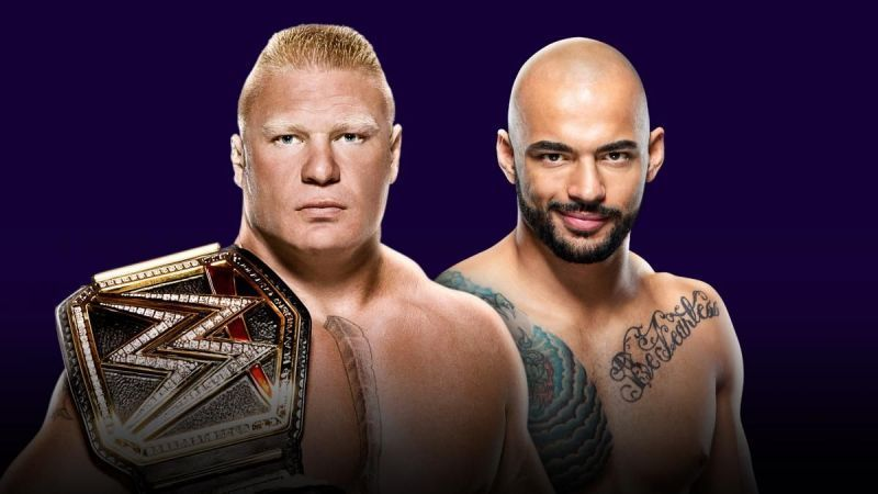 Brock Lesnar will defend the WWE Title against Ricochet at Super ShowDown