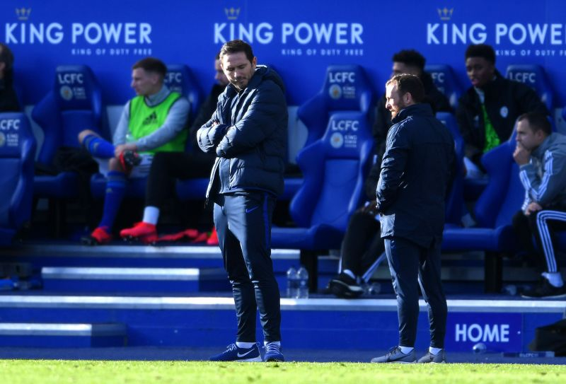 Frank Lampard was disappointed once again as Chelsea failed to gather all 3 point against the Foxes