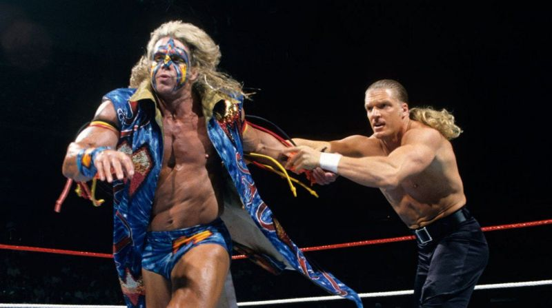 Triple H and The Ultimate Warrior