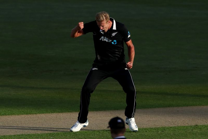 Kyle Jamieson ended up with figures of 2/42 from his 10 overs and scored a crucial 25* to help New Zealand beat India and win the series.