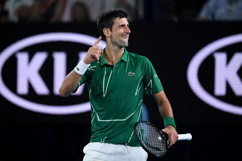 2020 Australian Open - Novak Djokovic has been sublime