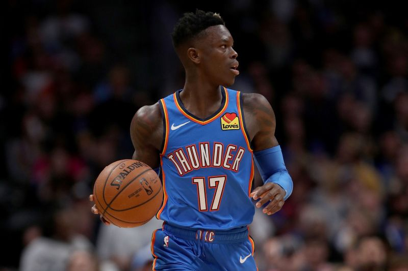 Dennis Schroder has made a huge impact from the OKC bench