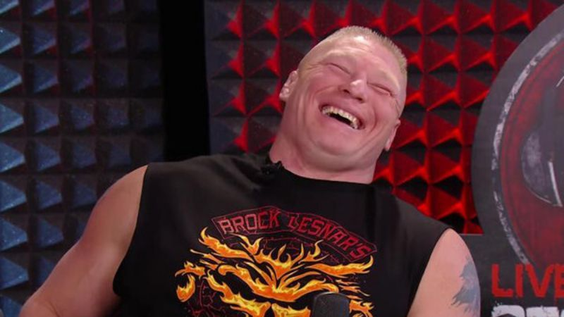 Brock Lesnar is the WWE Champion