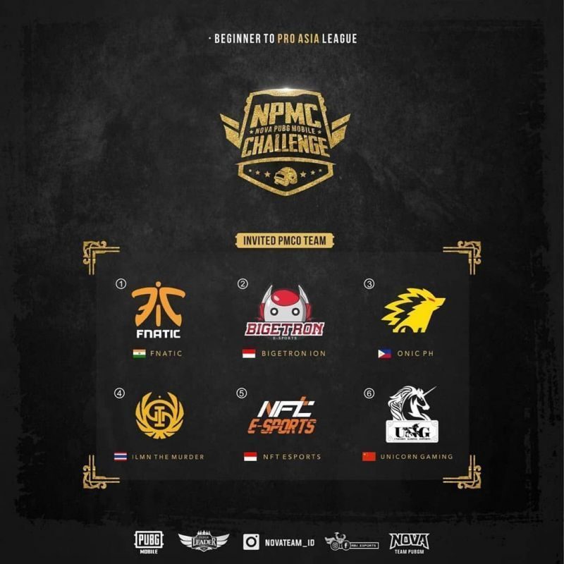 Invited teams are set to play the NPMC Asia League
