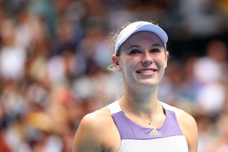 Caroline Wozniacki played her final match midway through the tournament.
