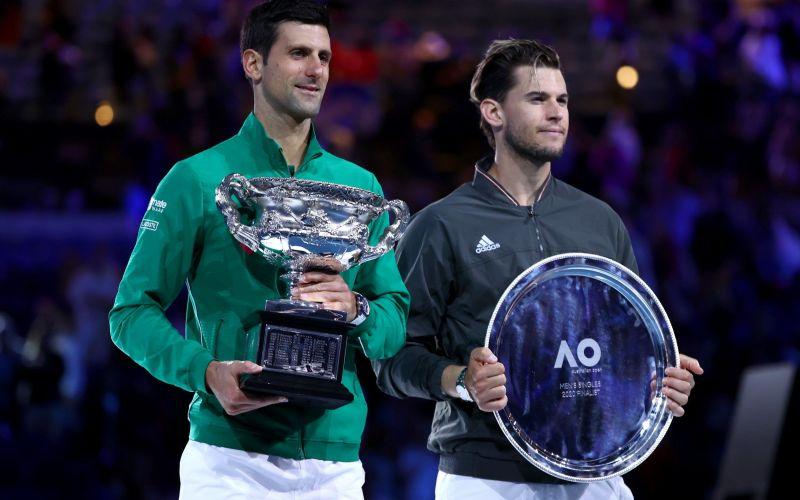Djokovic beats Thiem to lift a record-extending 8th Australian Open title