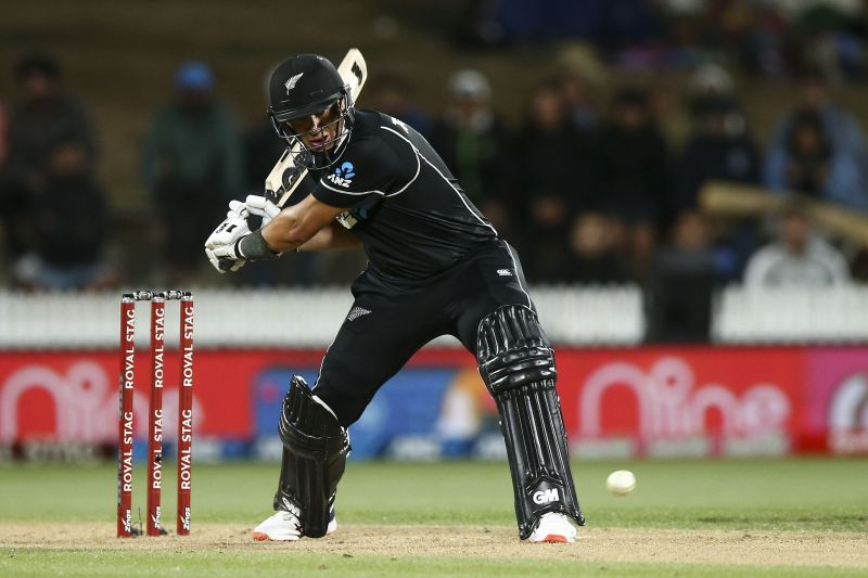 Taylor scored a brilliant century to get his team over the line in the first ODI