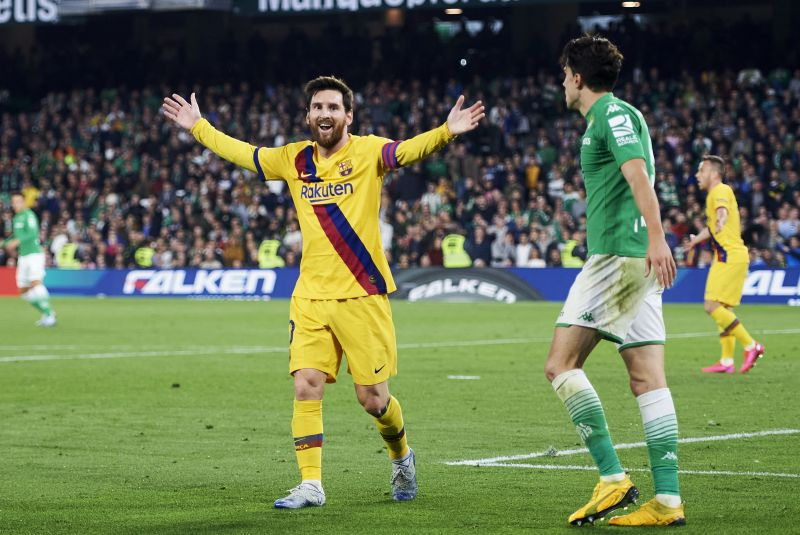 Lionel Messi is the greatest Barcelona player of all time.