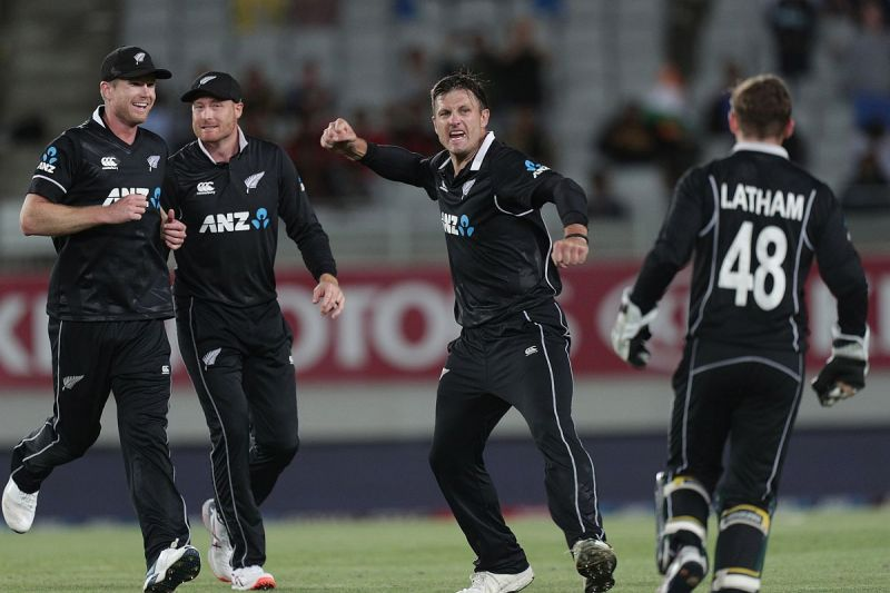 New Zealand beat India by 22 runs to clinch the series