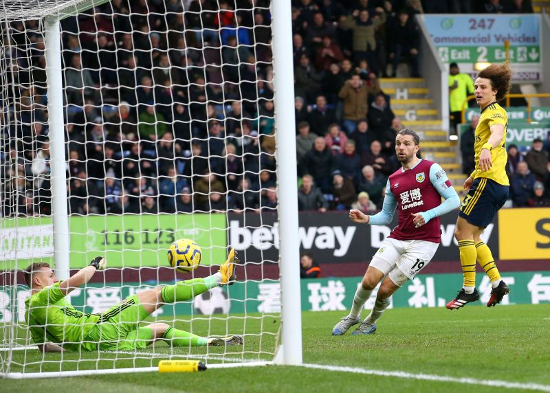 Burnley and Arsenal shared the spoils at Turf Mo