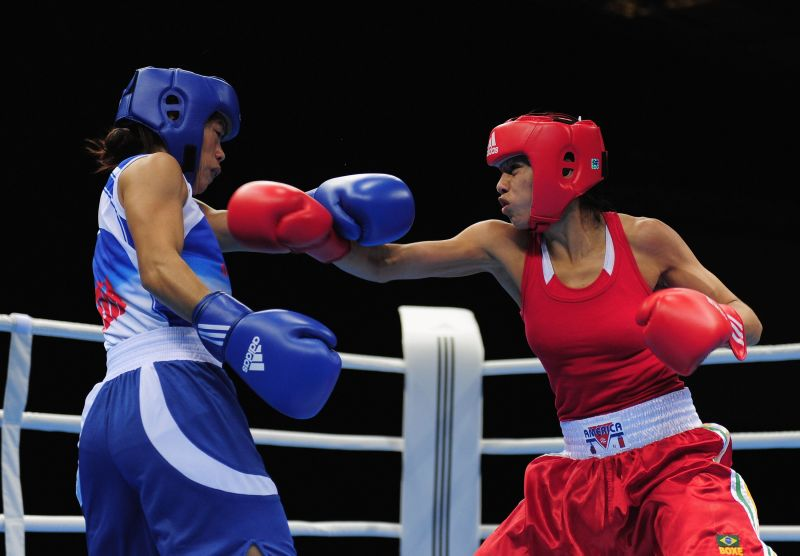 In 2012, Mary was the only female boxer to qualify for the Olympics