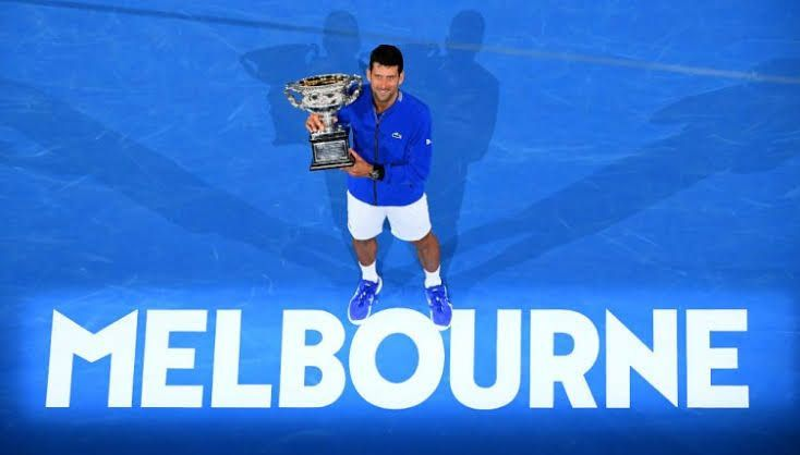 Novak Djokovic is the defending champion at the 2020 Australian Open