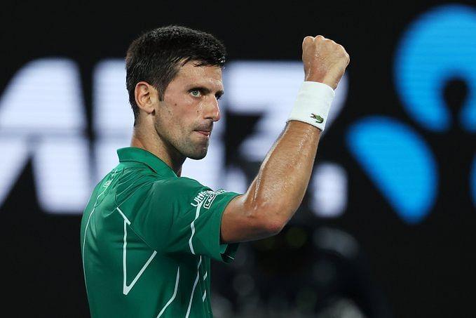 Djokovic looks all set to capture his eighth Australian Open title on Sunday.