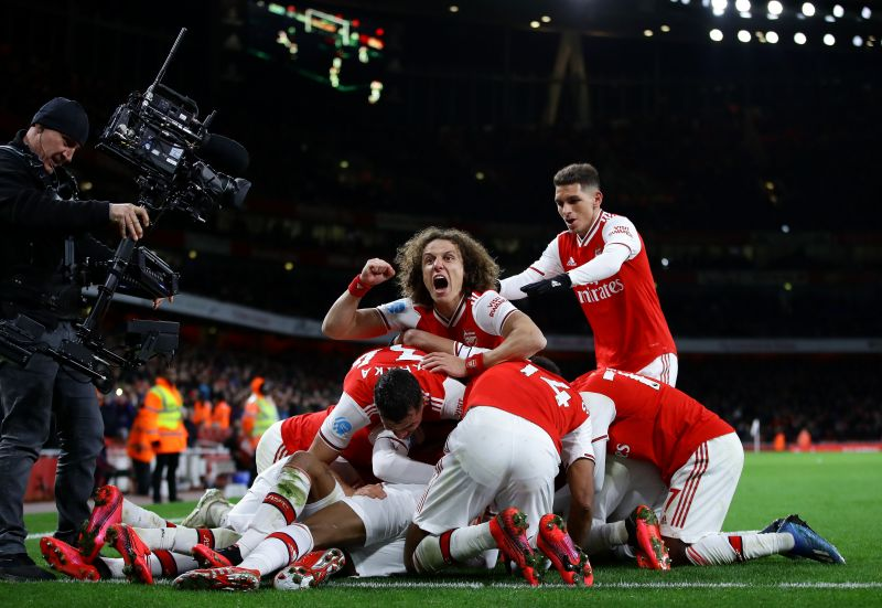 Arsenal picked up a thumping win over Newcastle today