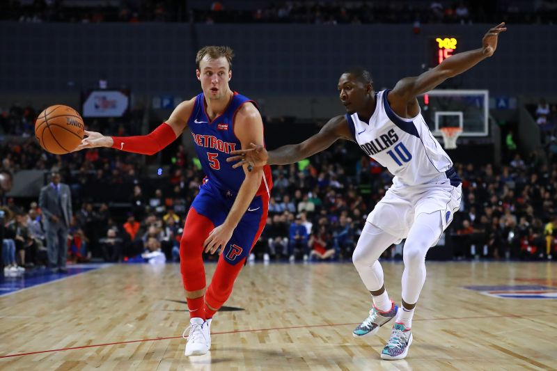 Luke Kennard has missed more than a month with a knee injury
