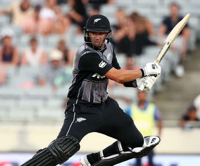 Taylor was once again the backbone of the New Zealand batting lineup