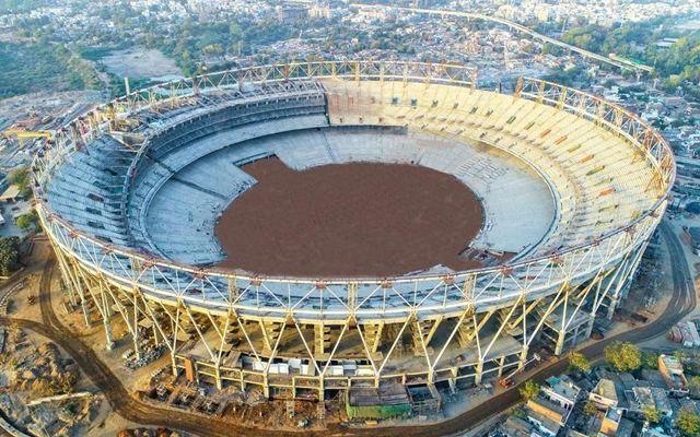 New Motera Stadium in Ahmedabad