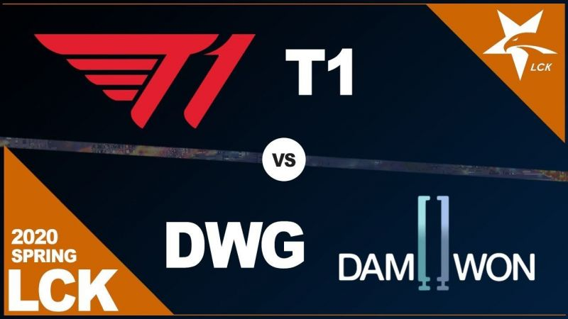 T1 clinch out a win against DAMWON Gaming