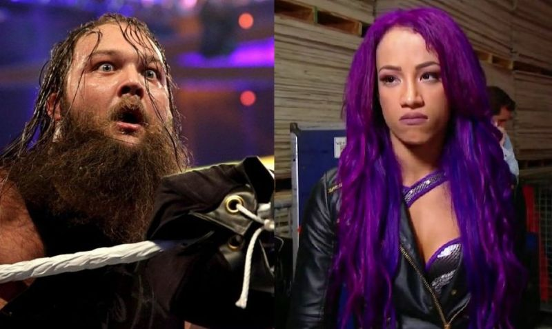 Bray Wyatt and Sasha Banks