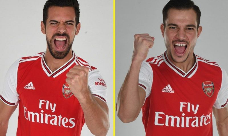 Arsenal signed Pablo Mari and Cedric Soares on loan deals