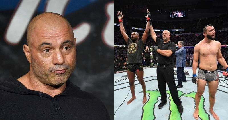 Joe Rogan/Jones vs. Reyes