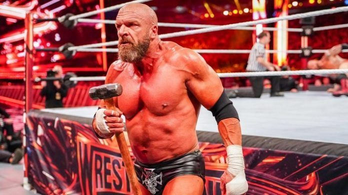 Triple H defeated Batista at last year