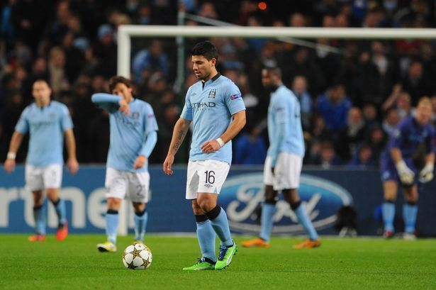 A penalty from Sergio Aguero couldn