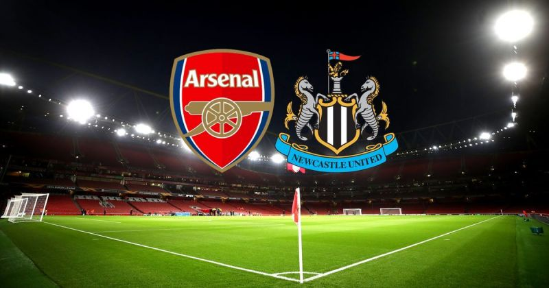 Arsenal went head-to-head with Newcastle United in a thrilling match on Sunday