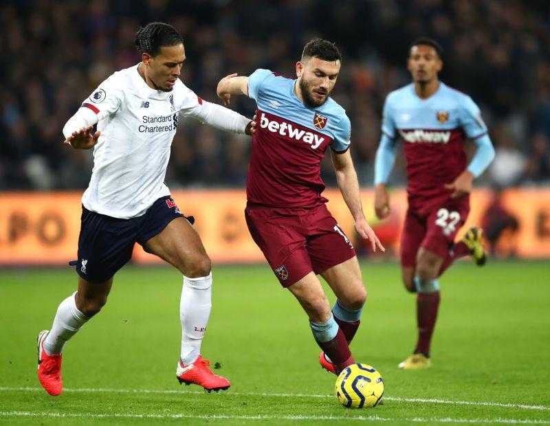 Liverpool host West Ham in the Premier League