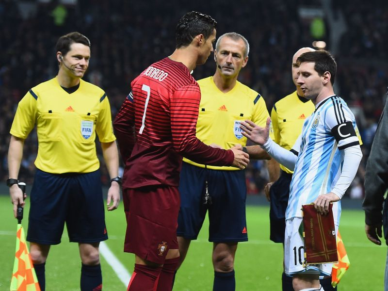 Ronaldo and Messi have gone head-to-head for club and country throughout their respective careers