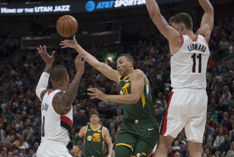 The Portland Trail Blazers-Utah Jazz will showcase a lot of talented players