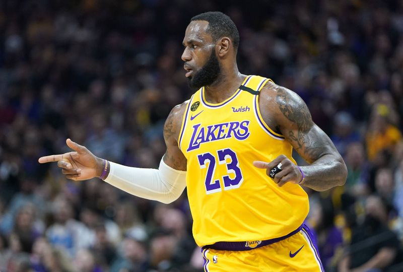 LeBron James is in contention to be named MVP