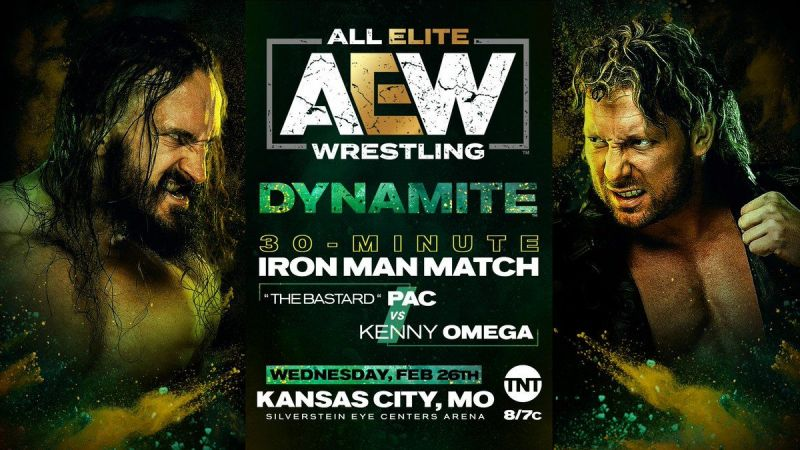 A massive Iron Man match will take place on tonight