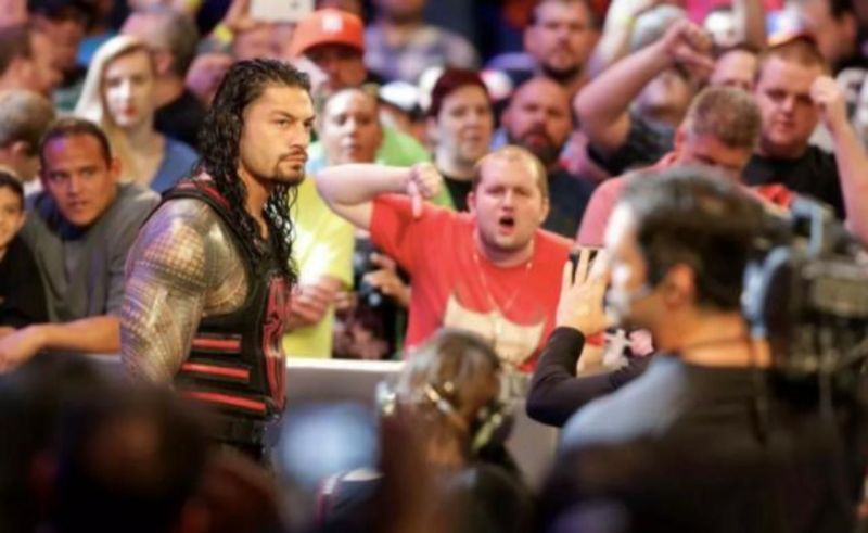 Roman Reigns is one of the most polarizing figures in all of WWE