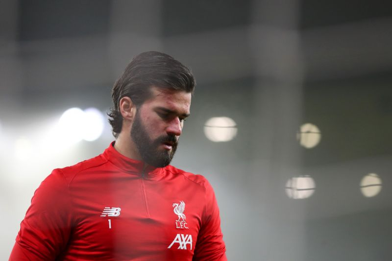 Alisson Becker is edging towards his second consecutive Golden Glove for Liverpool FC