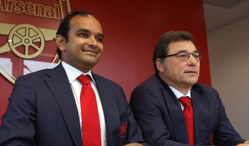 Raul Sanllehi is the Head of Football Operations