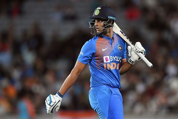 Shivam Dube failed to impress in the T20 series