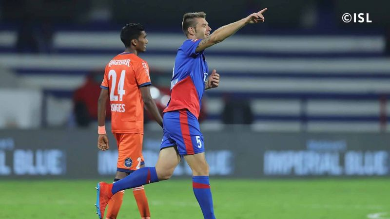 Juanan has been one of the best defenders in the league since he arrived (Photo: Indian Super League)